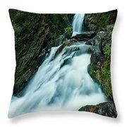 Waterfall - Whiting Downrush Throw Pillow