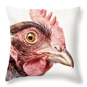 Who Are You? Throw Pillow