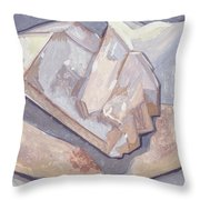 Who Is On Top Who Is On Base Throw Pillow