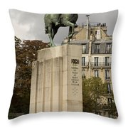 Who Is This Foch? Throw Pillow
