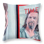 Who Is This Guy Throw Pillow