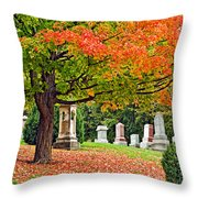 Who Needs Flowers Throw Pillow