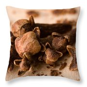 Whole Cloves Throw Pillow
