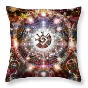 Whole Earth Throw Pillow