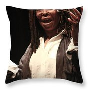 Whoopi Goldberg Throw Pillow
