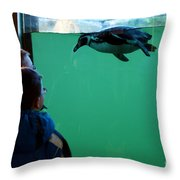 Who's Watching Whom? Throw Pillow