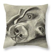 Why Are You Waking Me Up? Throw Pillow