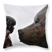 Why Did You Shoot Me? Throw Pillow