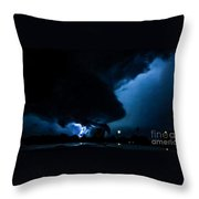 Wicked Supercell Throw Pillow