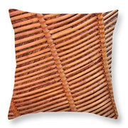 Wicker #2 Throw Pillow