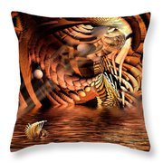 Wickerlight Throw Pillow