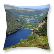 Wicklow Mountains  Throw Pillow