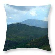 Wicklow Sleeping Giants Throw Pillow