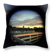 Wide Angle Zoom Throw Pillow