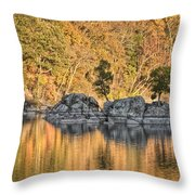Widewater Fall Color Throw Pillow