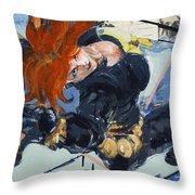Widow #1 Throw Pillow