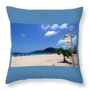 Wifi In Paradise - Hotspot Redefined Throw Pillow