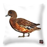 Wigeon Art - 7415 - Wb Throw Pillow