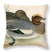 Wigeon Throw Pillow