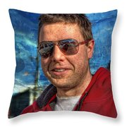 Wiggles' Daddy Throw Pillow