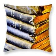 Wikipedia Origins Throw Pillow