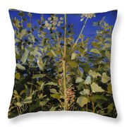 Wild Angelica Throw Pillow