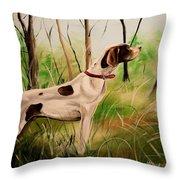 Wild Apple Deuce Throw Pillow