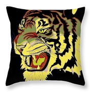 Wild At Heart Shere Khan Throw Pillow