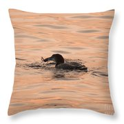 Wild Caught Throw Pillow