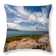 Wild Clouds Throw Pillow