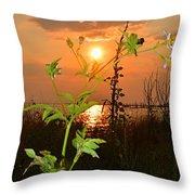 Wild Flower Ia Mlo Throw Pillow