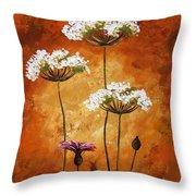 Wild Flowers 041 Throw Pillow
