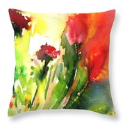 Wild Flowers 09 Throw Pillow