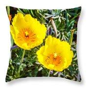 Wild Flowers 2 Throw Pillow