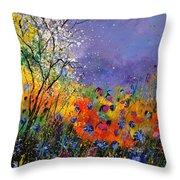 Wild Flowers 4110 Throw Pillow
