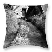 Wild Garlic Track Throw Pillow