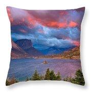 Wild Goose Island Overlook September Sunrise Throw Pillow