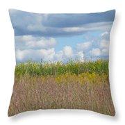 Wild Grass Two Throw Pillow
