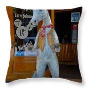 Wild Horse Saloon Throw Pillow