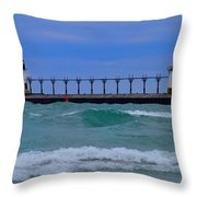 Wild In Saint Joe's Throw Pillow by John Absher