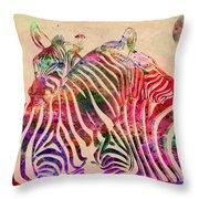 Wild Life 3 Throw Pillow