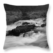 Wild Potomac River Throw Pillow