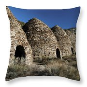 Wild Rose Charcoal Kilns Death Valley Img 4290 Throw Pillow