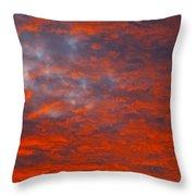 Wild Sky Throw Pillow