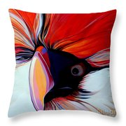 Wild Thang Throw Pillow