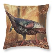 Wild Turkey Throw Pillow by Hans Droog