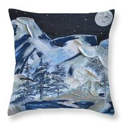 Wilderness Sky Throw Pillow