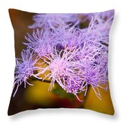 Wildflower-1 Throw Pillow