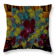 Wildflower Into The Wilderness Throw Pillow