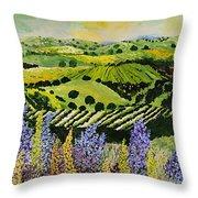 Wildflower Ridge Throw Pillow